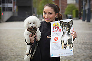 NO FEE PICTURES                                                                                                                                            9/5/19  Jodie Pezzilli, DSPCA at the launch of Ireland's favourite animal friendly event, Pets in the City, which will take place in Dublin's Smithfield Square on Sunday May 19th from 1130am to 430pm. Picture: Arthur Carron