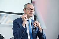 13 JUN 2017, BERLIN/GERMANY:<br /> Prof. Dr. Peter Bofinger, Oekonom und Professor für Volkswirtschaftslehre an der Universität Wuerzburg und Mitglied im Sachverständigenrat zur Begutachtung der gesamtwirtschaftlichen Entwicklung, Jahreskonferenz, Wirtschaftsforum der SPD, Humboldt-Box<br /> IMAGE: 20170613-01-351