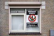 Nederland, Nijmegen, 9-11-2017In een sociale huurwoning is een wietplantage ontmanteld. Foto: Flip Franssen