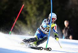 as forerunner competes during Men's Slalom - Pokal Vitranc 2014 of FIS Alpine Ski World Cup 2013/2014, on March 9, 2014 in Vitranc, Kranjska Gora, Slovenia. Photo by Matic Klansek Velej / Sportida