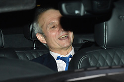 © Licensed to London News Pictures. 12/12/2018. London, UK. DAVID LIDINGTON is seen leaving the Houses of Parliament in Westminster as Prime Minister Theresa May faces a vote of no confidence from her own party. Photo credit: Ben Cawthra/LNP
