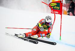 Bjoernar Neteland of Norway competes during 1st run of Men's GiantSlalom race of FIS Alpine Ski World Cup 57th Vitranc Cup 2018, on March 3, 2018 in Kranjska Gora, Slovenia. Photo by Ziga Zupan / Sportida