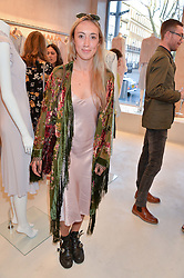 HARLEY MOON KEMP daughter of Martin Kemp at a party to celebrate the re-launch of the Ghost Flagship store at 120 King's Road, London on 15th April 2015.