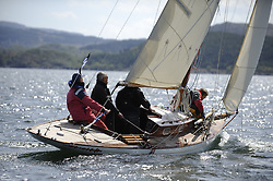 The Clyde Cruising Club's Scottish Series held on Loch Fyne by Tarbert. Day 2 racing in a perfect southerly<br /> <br /> 2143C, Mignon,  Bob Fisher, Barry Dunning, CCC, Fife Day Boat 1898