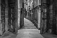 Church Side Door Alley, Barcelona