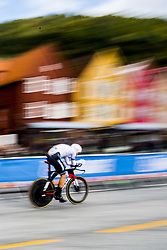 September 20, 2017 - Bergen, NORWAY - 170920 Nikias Arndt of Germany competes during the Men Elite Individual Time Trial on September 20, 2017 in Bergen..Photo: Jon Olav Nesvold / BILDBYRN / kod JE / 160023 (Credit Image: © Jon Olav Nesvold/Bildbyran via ZUMA Wire)