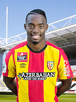 Wylan CYPRIEN - 30.10.2015 - Portrait Officiel - Lens<br /> Photo : RC Lens / Icon Sport