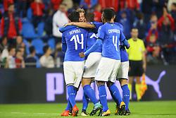 GOAL LUCA VIDO ESULTANZA ITALIA CELEBRATION<br /> CALCIO AMICHEVOLE ITALIA - MAROCCO U21