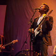 WASHINGTON, DC - September 3rd, 2014 - D.C. native Hamilton Leithauser opens for Spoon at the Lincoln Theatre. (Photo for Kyle Gustafson / WAMU)