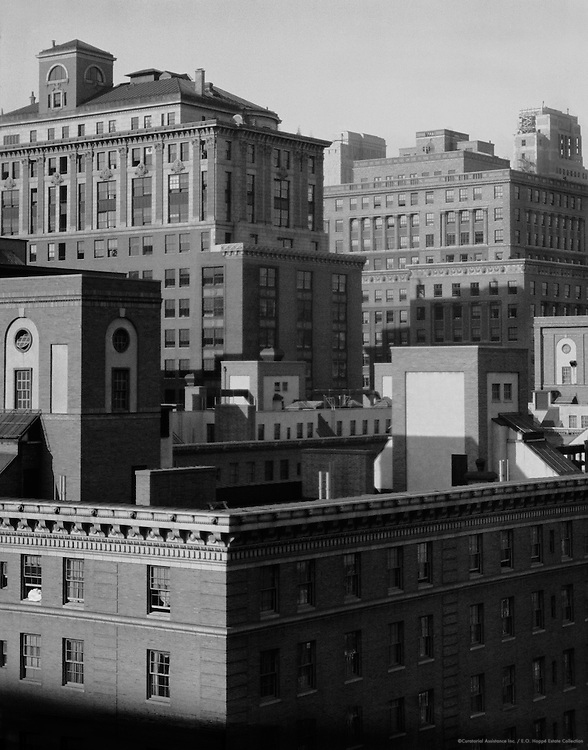 New York City rooftops from Shelton Hotel, 1925