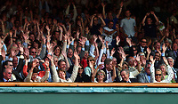 Member of The Royal Box join in with the Mexican Wave on Centre Court. Wimbledon Tennis Championship, Day 4, 26/06/2003. Credit: Colorsport / Matthew Impey DIGITAL FILE ONLY