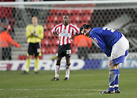 Photo: Lee Earle.<br /> Southampton v Ipswich Town. Coca Cola Championship. 21/01/2006. Ipswich's Alan Lee (R) looks happy after scoring his second goal.