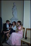 OLIVER HOLMES; Florence Wood : Isabel de Andreis , Oxford University Polo club Ball, Blenheim Palace. Woodstock. 6 March 2015