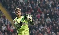 Torwart Felix Wiedwald (Bremen)<br /> Frankfurt, 07.04.2017, Fussball, Bundesliga, Eintracht Frankfurt - SV Werder Bremen 2:2<br /> Norway only