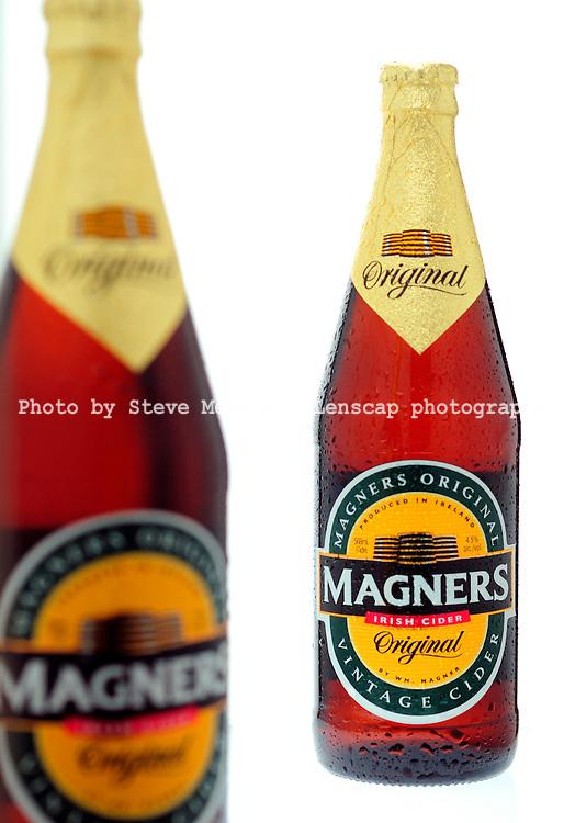 Bottles of Magners Original Cider