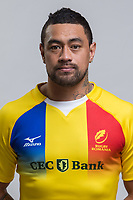 CLUJ-NAPOCA, ROMANIA, FEBRUARY 27: Romania's national rugby player Jack Umaga pose for a headshot, on February 27, 2018 in Cluj-Napoca, Romania. (Photo by Mircea Rosca/Getty Images)