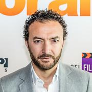 NLD/Amsterdam//20170419 - Castpresentatie film Gek op Oranje, Nasrdin Dchar