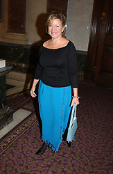 KAY SAATCHI at a fashion show and dinner hosted by Shangri-la Hotels and Resorts and Andy Wong featuring fashion by new designer Lu Kun held at The Goldsmiths Hall, Foster Lane, London on 25th April 2005.<br /><br />NON EXCLUSIVE - WORLD RIGHTS