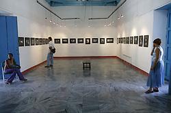 Photography Gallery at Fototeca; Plaza Viela; Havana; Cuba,