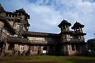 The Jai Vilas Palace in Jawhar, Maharashtra, India.