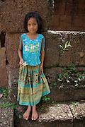 Flower Girl - Angkor