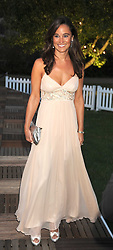 PIPPA MIDDLETON at the Royal Parks Foundation Summer Party hosted by Candy & Candy on the banks of the Serpentine, Hyde Park, London on 10th September 2008.