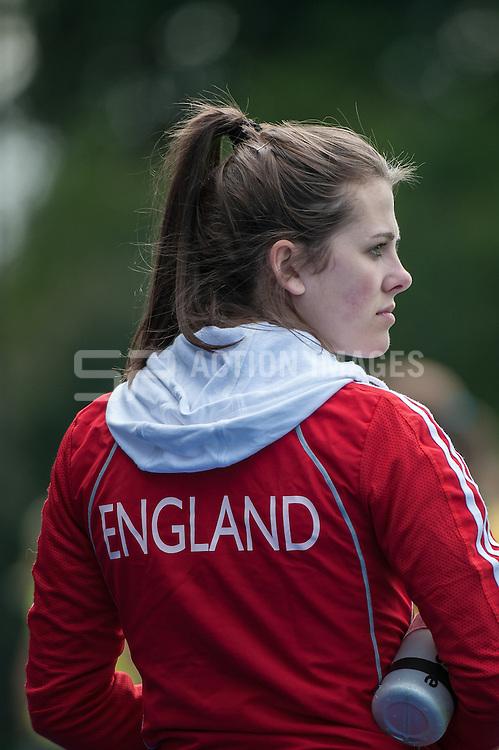 England v South Africa, Bisham Abbey, Marlow, UK on 19 April 2014. Photo: Simon Parker