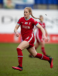 BIRKENHEAD, ENGLAND - Sunday, March 14, 2021: Liverpool's Amy Rodgers during the FA Women's Championship game between Liverpool FC Women and Coventry United Ladies FC at Prenton Park. Liverpool won 5-0. (Pic by David Rawcliffe/Propaganda)