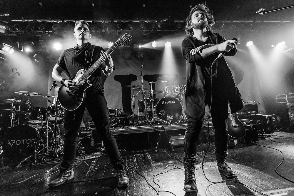Polish dark metal band Votum supporting Anneke van Giersbergen's Vuur at Colos-Saal in Aschaffenburg