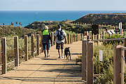 Walking on Sea Summit Trails in San Clemente