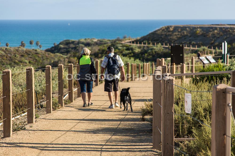 Walking on Sea Summit Trails in San Clemente