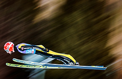31.12.2017, Olympiaschanze, Garmisch Partenkirchen, GER, FIS Weltcup Ski Sprung, Vierschanzentournee, Garmisch Partenkirchen, Qualifikation, im Bild Markus Eisenbichler (GER) // Markus Eisenbichler of Germany during his Qualification Jump for the Four Hills Tournament of FIS Ski Jumping World Cup at the Olympiaschanze in Garmisch Partenkirchen, Germany on 2017/12/31. EXPA Pictures © 2018, PhotoCredit: EXPA/ JFK