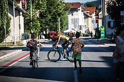 Primoz Roglic after Slovenian Road Cyling Championship 2019 on June 30, 2019 in Radovljica, Slovenia. Photo by Peter Podobnik / Sportida.