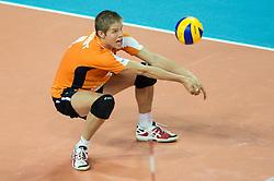 01-07-2012 VOLLEYBAL: EUROPEAN LEAGUE TURKIJE - NEDERLAND: ANKARA<br /> Nederland wint de European League 2012 door Turkije met 3-2 te verslaan / <br /> Thijs Ter Horst (#4 NED)<br /> ©2012-FotoHoogendoorn.nl/Conny Kurth