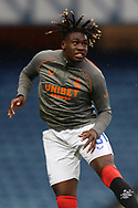 Calvin Bassey (Rangers) during the Scottish Premiership match between Rangers and Livingston at Ibrox, Glasgow, Scotland on 25 October 2020.