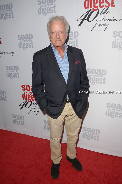 NICOLAS COSTER at Soap Opera Digest's 40th Anniversary party at The Argyle Hollywood in Los Angeles, California
