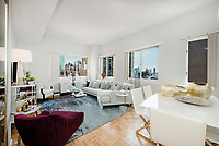 Living Room at 308 East 38th Street