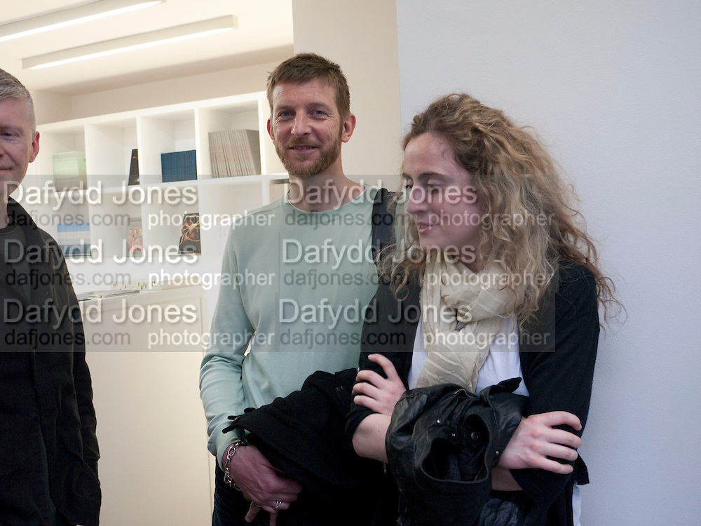 MICHAEL RAEDECKER; RANNVA KUNOY, Haluk Akakce; Coming Home. Exhibition of work at the Alison Jacques Gallery. 29 April 2010. *** Local Caption *** -DO NOT ARCHIVE-© Copyright Photograph by Dafydd Jones. 248 Clapham Rd. London SW9 0PZ. Tel 0207 820 0771. www.dafjones.com.<br /> MICHAEL RAEDECKER; RANNVA KUNOY, Haluk Akakce; Coming Home. Exhibition of work at the Alison Jacques Gallery. 29 April 2010.