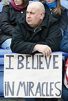Photo: Steve Bond/Richard Lane Photography. <br />Leicester City v Scunthorpe United. Coca Cola Championship. 29/03/2008. Happy Leicester fan
