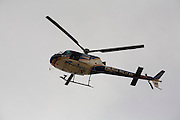 Mariana_MG, Brasil...Helicoptero da policia sobrevoando Mariana, Minas Gerais...The police helicopter flying in Mariana, Minas Gerias...Foto: LEO DRUMOND /  NITRO