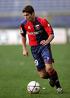 """Rodrigues Fabiano (Genoa)<br /> Italian """"Serie B"""" 2006-07<br /> 03 Mar 2007 (Match Day 26)<br /> Genoa-Lecce (1-0)<br /> """"Luigi Ferraris""""-Stadium-Genova-Italy<br /> Photographer: Luca Pagliaricci INSIDE"""
