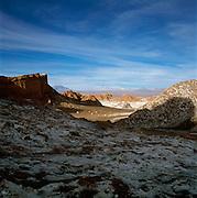 Mountains In The Atacama Desert, Valle De La Luna, San Pedro, Chile