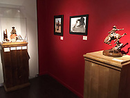 Trappings of the American West show held in the Desert Caballeros Western Museum, Wickenburg, Arizona,
