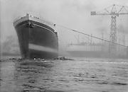 Dock, Swan Hunter & Wigham Richardson Shipyard, England, 1928