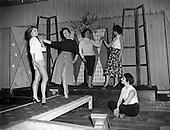 "1957 - Fashion Show: ""Frock Around the Clock"" at the Gresham Hotel, Dublin."