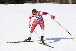 February 21, 2019 - Seefeld In Tirol, AUSTRIA - 190221 Johannes Høsflot Klæbo of Norway competes in men's cross-country skiing sprint qualification during the FIS Nordic World Ski Championships on February 21, 2019 in Seefeld in Tirol..Photo: Vegard Wivestad Grøtt / BILDBYRÃ…N / kod VG / 170286 (Credit Image: © Vegard Wivestad GrØTt/Bildbyran via ZUMA Press)