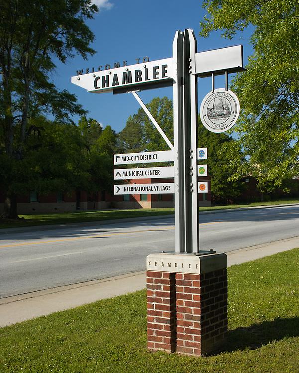 City of Chamblee Signage 02 - Chamblee, GA