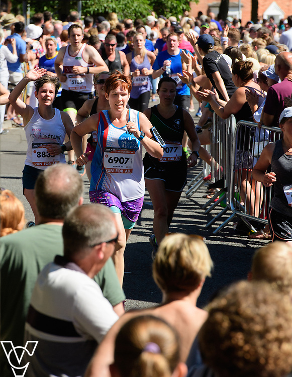 Colleagues from Branston Ltd have taken part in the Jane Tomlinson's Run For All Lincoln 10k in support of Rethink Mental Illness.<br /> <br /> Picture: Chris Vaughan Photography for Branston<br /> Date: July 1, 2018