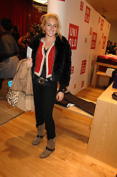 NATASHA CORRETT at a party to celebrate the opening of the new Uniqlo store at 331 Oxford Street, London W1 on 6th November 2007.<br /><br />NON EXCLUSIVE - WORLD RIGHTS