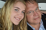 A father and daughter portrait, Memphis, Tennessee.